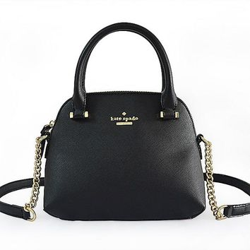 Kate Spade Shell Women Shopping Leather Metal Chain Crossbody Satchel H-YJBD-2H