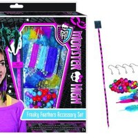 Monster High Freaky Feathers Accessory Kit for Jewelry & Hair Extensions