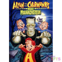 ALVIN & THE CHIPMUNKS MEET FRANKENSTEIN (DVD)