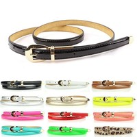 Women Candy Color Belt