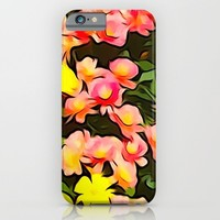 Painted Fall Flower Bouquet iPhone & iPod Case by KCavender Designs