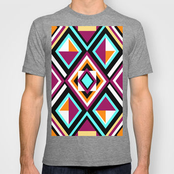 Quilt Pattern T-shirt by k_c_s