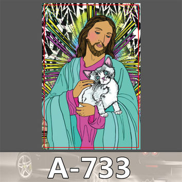 A-733 styling Home decor jdm sticker auto laptop sticker decal motorcycle fridge skateboard doodle stickers -styling