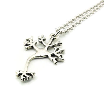 Nerve Cell Necklace, Neuron Necklace