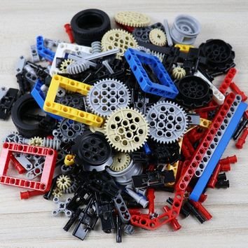ZXZ 250g Technic Parts Liftarm Beam Cross Axle Frame Connector Pin MOC Technic Pieces Compatible With Legoes Building Blocks Toy