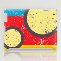 circle and lines 2 iPad Case by aticnomar