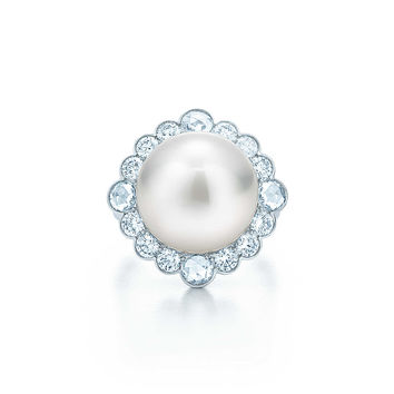 Tiffany & Co. - Tiffany South Sea Noble:Pearl Ring