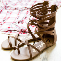 Simply Strapping Gladiator Sandals