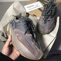 Adidas Yeezy 700 street fashion men and women models wild personality outdoor casual shoes 2#