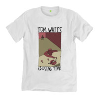 Tom Waits - Closing Time | BlackLineWhite Art Clothing