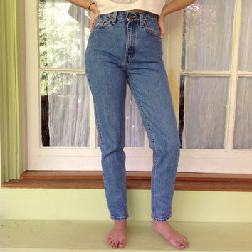 HIGH WAIST VINTAGE Levi denim Jeans All Sizes All Colors 70s 80s 90s high waisted jeans