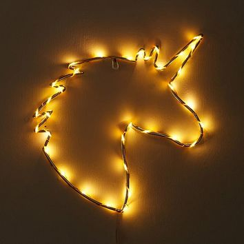 Unicorn Light Sculpture | Urban Outfitters