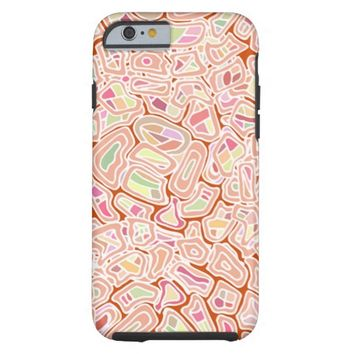 Cute Colorful Tribal Abstract Geometric Pattern Tough iPhone 6 Case