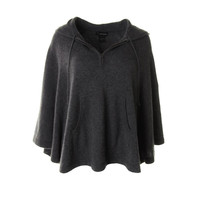 Private Label Womens Cashmere Knit Cape Sweater