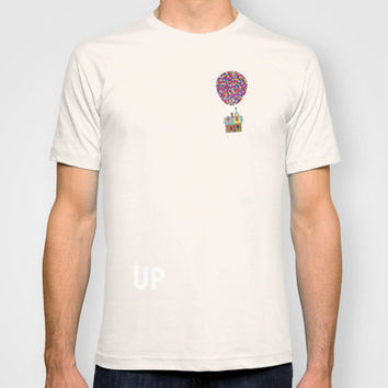 Disney Pixar's Up ~ A Minimalist Poster T-shirt by Bluebird Design