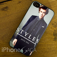 harry styless since one direction design for iPhone 4/4s, iPhone 5/5s/5c, Samsung Galaxy S3/S4 Case