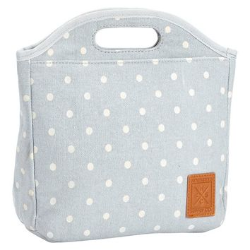 NORTHFIELD GREY DOT TOTE LUNCH