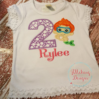 Bubble Guppies Inspired Birthday Custom Tee Shirt - Customizable -  Infant to Youth