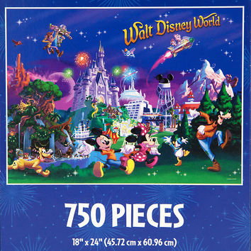 Mickey Mouse and Friends Jigsaw Puzzle - Walt Disney World