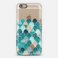 MERMAID SCALES iPhone6 transparent iPhone 6 case by Monika Strigel | Casetify
