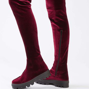 DIAL Over The Knee Boots - Shoes