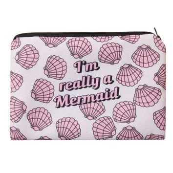 Mermaid Make up Bag