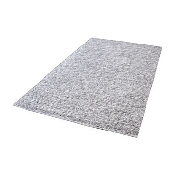 8905-002 Alena Handmade Cotton Rug In Black And White - 5ft x 8ft