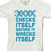 Dna Checks Itself Before It Wrecks Itself |