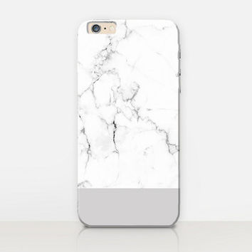 Grey Marble Phone Case For - iPhone 6 Case - iPhone 5 Case - iPhone 4 Case - Samsung S4 Case - iPhone 5C - Tough Case - Matte Case - Samsung