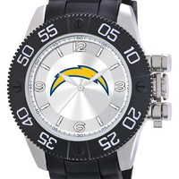 Men's Game Time Watches 'NFL Beast - San Diego Chargers' Flexible Strap Watch, 47mm