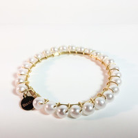 Anastasia Bracelet in Gold