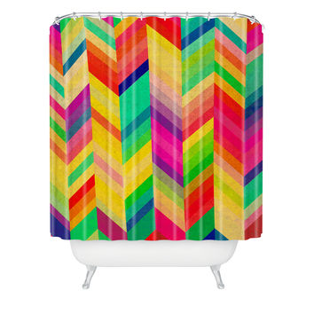 Rebecca Allen Color Quest Shower Curtain