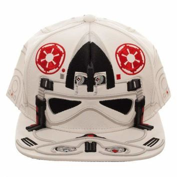 Star Wars AT-AT Driver Big Face Snapback Hat