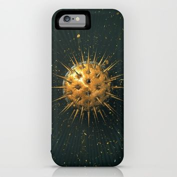 Abstract Dark Sphere iPhone & iPod Case by Cinema4design | Society6