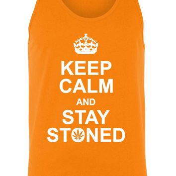 Men's Keep Calm and Stay Stoned Tank Top Shirt
