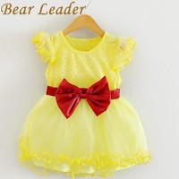 Baby Girls Dress New Casual Princess Dresses Kids Clothes Bow Floral Design for Baby Girls Dress