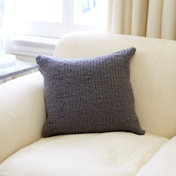 The Stockinette Pillow