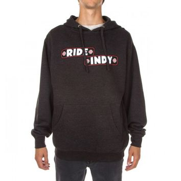 Independent Sticker Bar Pullover Hoodie - Charcoal Heather
