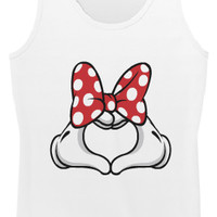 Minnie Heart - Hipster Tops