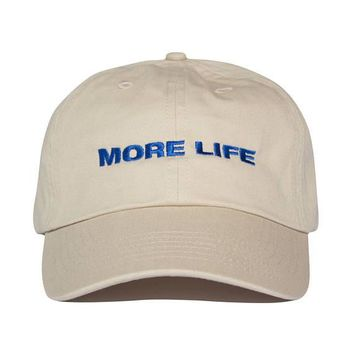 MORE LIFE  Embroidery Baseball Cap