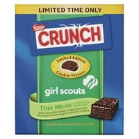 Nestle Crunch Girl Scouts Thin Mints Candy Bars 7.8 oz