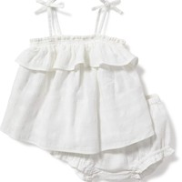 2-Piece Ruffled Tank and Bloomer Set for Baby | Old Navy
