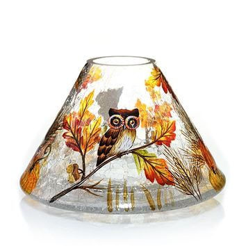 Owl Collection : Jar Candle Shade : Yankee Candle