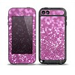The Pink Unfocused Glimmer Skin for the iPod Touch 5th Generation frē LifeProof Case