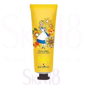 Beyond Disney ® Alice in Glow Hand Cream (Citrus Ribbon) Lemon Verbena Scent