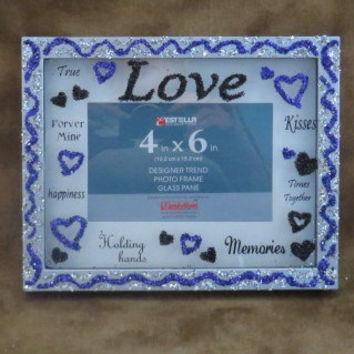 4x6 Picture Frame - Silver Frame - 4x6 Frame - Frames - Maid Of Honor Gifts - Bridesmaid Gifts - Little Girls Gifts - Gifts Under 20