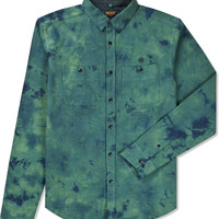 Green The Jerry Button Down Shirt