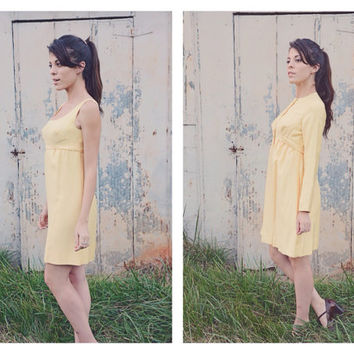 Vintage 1960s Dress with Jacket  // Jackie O Style