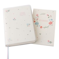 2014 A6 WEEKLY DIARY: SWEET - Diaries & Calendars