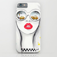 Winter In NYC iPhone & iPod Case by Anna Hammer
